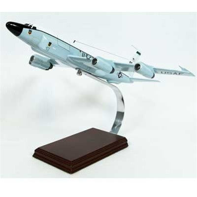 Boeing RC-135V/W Rivet Joint OE 1/100 Scale Mahogany Model