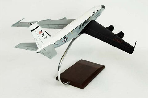Boeing RC-135S Cobra Ball OE 1/100 Scale Mahogany Model