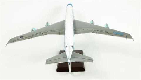 Desktop Boeing VC-137A Air Force One 1/100 Scale Mahogany Model