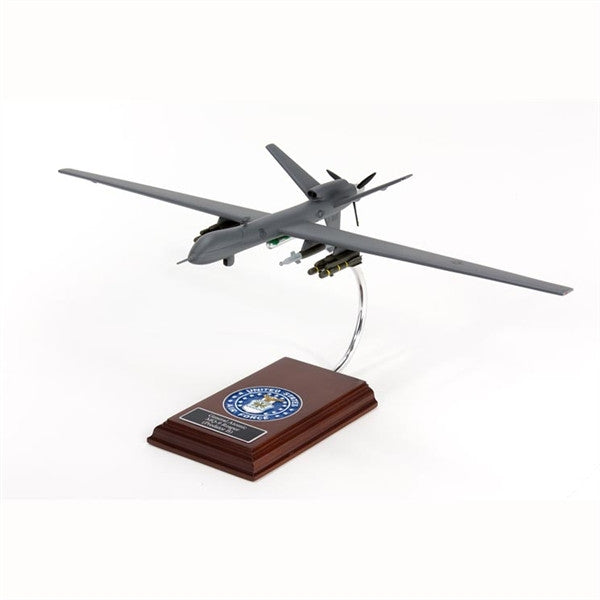 MQ-9 Reaper 1/32 Scale Mahogany Model