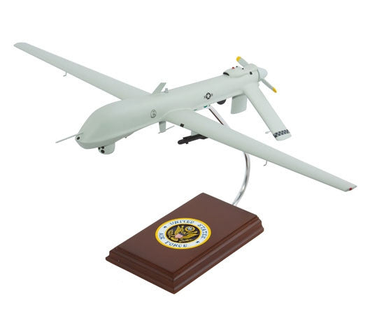 General Atomics MQ-1 Predator Desktop Mahogany Model