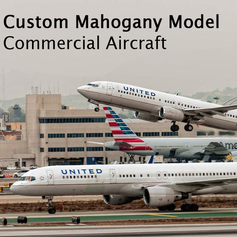 Custom Mahogany - Commercial Aircraft