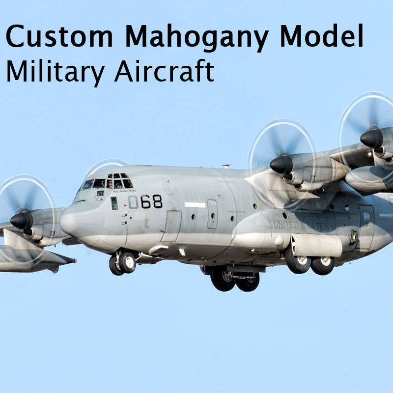 Custom Mahogany - Military Aircraft