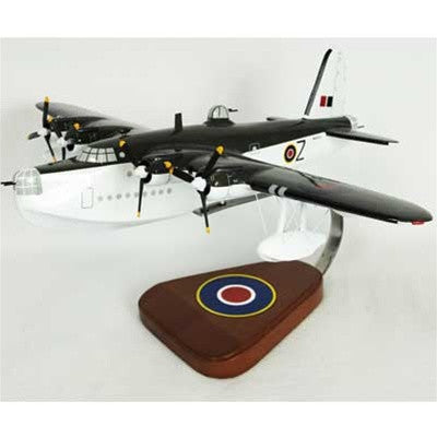 Sunderland Flying Boat RAF 1/72 Scale Mahogany Model