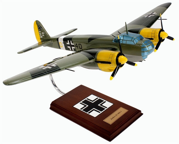 Junkers Ju-88A-1 1/36 Scale Mahogany Model