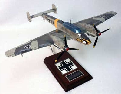 Messerschmitt  Me-110C 1/32 Scale Mahogany Model
