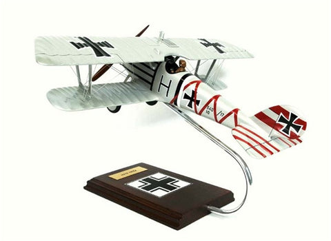 Pfalz Flugzeugwerke D-III Fighter 1/20 Scale Mahogany Model