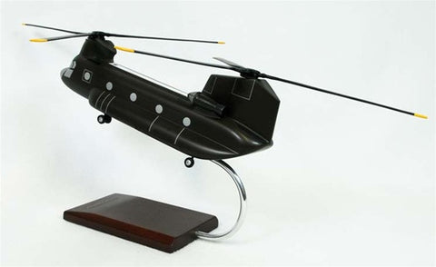 Boeing CH-47D Chinook 1/48 Scale Mahogany Model