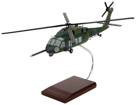 Sikorsky Aircraft Corporation HH/MH-60G Pavehawk 1/40 Scale Mahogany Model