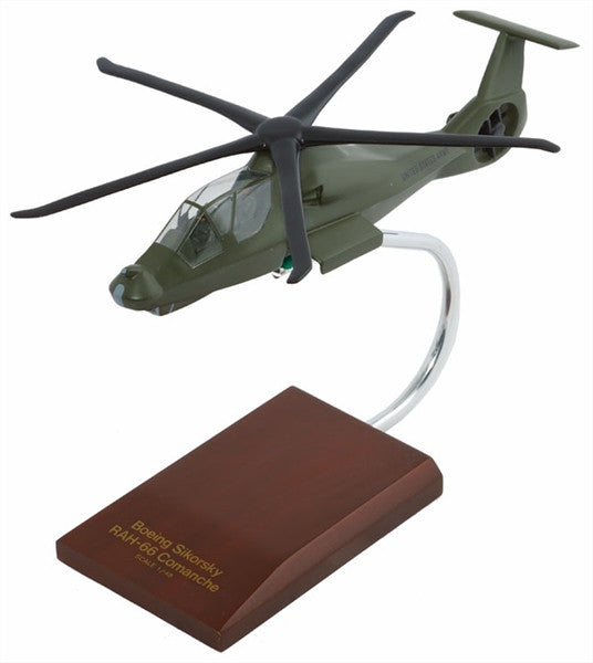 Boeing Sikorsky Aircraft Corporation RAH-66 Commanche 1/48 Scale Mahogany Model