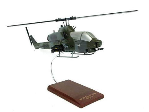 AH-1W Super Cobra Mahogany Model