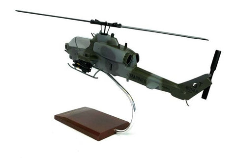 AH-1W Super Cobra 1/32 Scale Mahogany Model