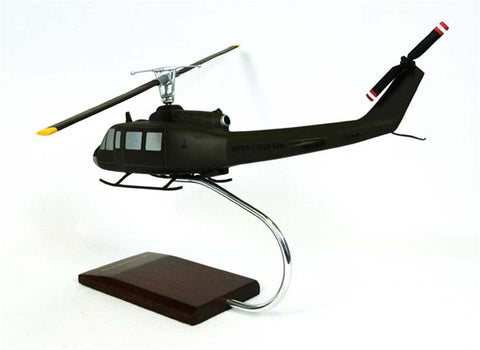 Bell Helicopter Textron UH-1D Iroquois 1/32 Scale Mahogany Model