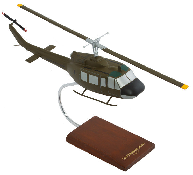 Bell Helicopter Textron UH-1D Iroquois Mahogany Model