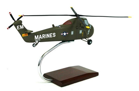 Boeing Sikorsky UH-34D Sea Horse 1/48 Scale Mahogany Model