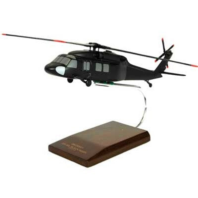 Sikorsky UH-60L Blackhawk 1/48 Scale Mahogany Model