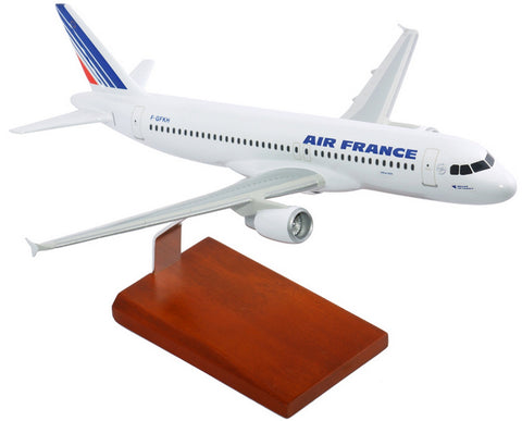 Air France Airbus A320 Mahogany Model