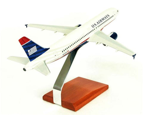 Desktop Airbus A320-200 US Airways 1/100 Scale Model (AW Version)