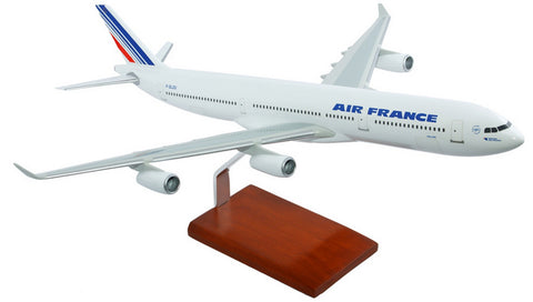 Air France A340-300 Mahogany Model