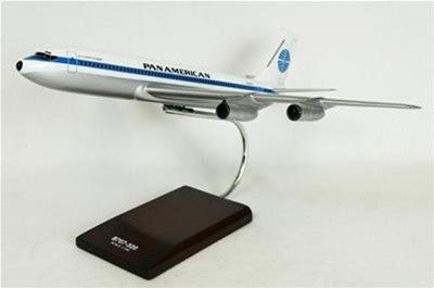 Boeing 707-320 Pan American Airlines - Pan Am 1/100 Scale Mahogany Model