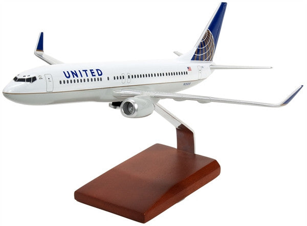 Boeing B737-800 Continental/United 1/100 Scale Model