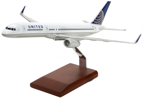 Boeing B757-200 Continental/United 1/100 Scale Model