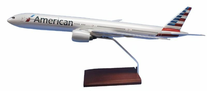 Boeing 777-300 American 1/100 Scale Model