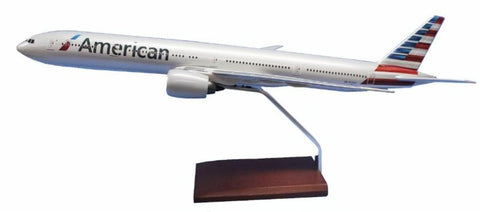 American Airlines Boeing 777-300 1/100 Scale Model
