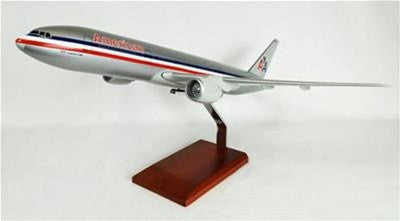 Boeing 777-200 American 1/100 Scale  Model