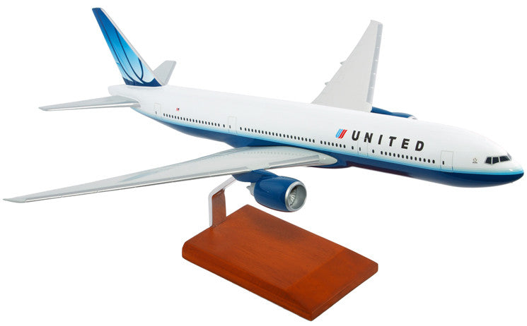 United Airlines Boeing 777-200  Model 1/100 scale
