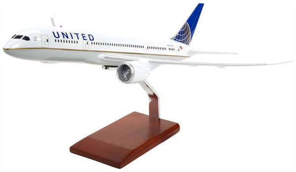 Boeing B787 United 1/100 Scale  Model