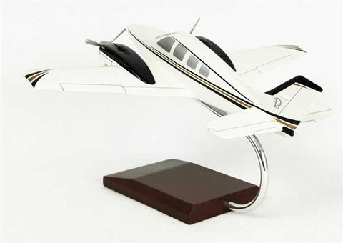 Beechcraft Baron 1/40 Scale Mahogany Model