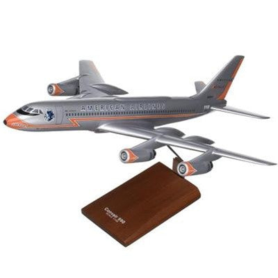 Convair C-990 American 1/100 Scale Mahogany Model
