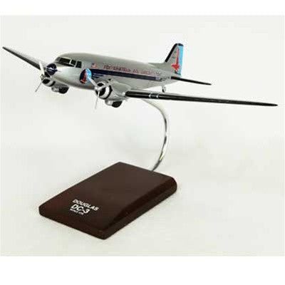 Douglas DC-3 Eastern 1/72 Scale Mahogany Model