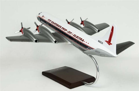 Lockheed L-188 Electra Eastern  1/72 Scale Mahogany Model