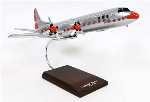 Lockheed L-188 American 1/72 Scale Mahogany Model