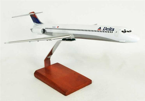 McDonnell Douglas MD-80 Delta 1/100 Scale  Model