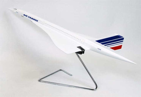 BAC Concorde Air France 1/100 Scale Mahogany Model