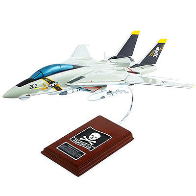 Grumman F-14A Tomcat VF-84 Jolly Rogers 1/36 Scale  Model