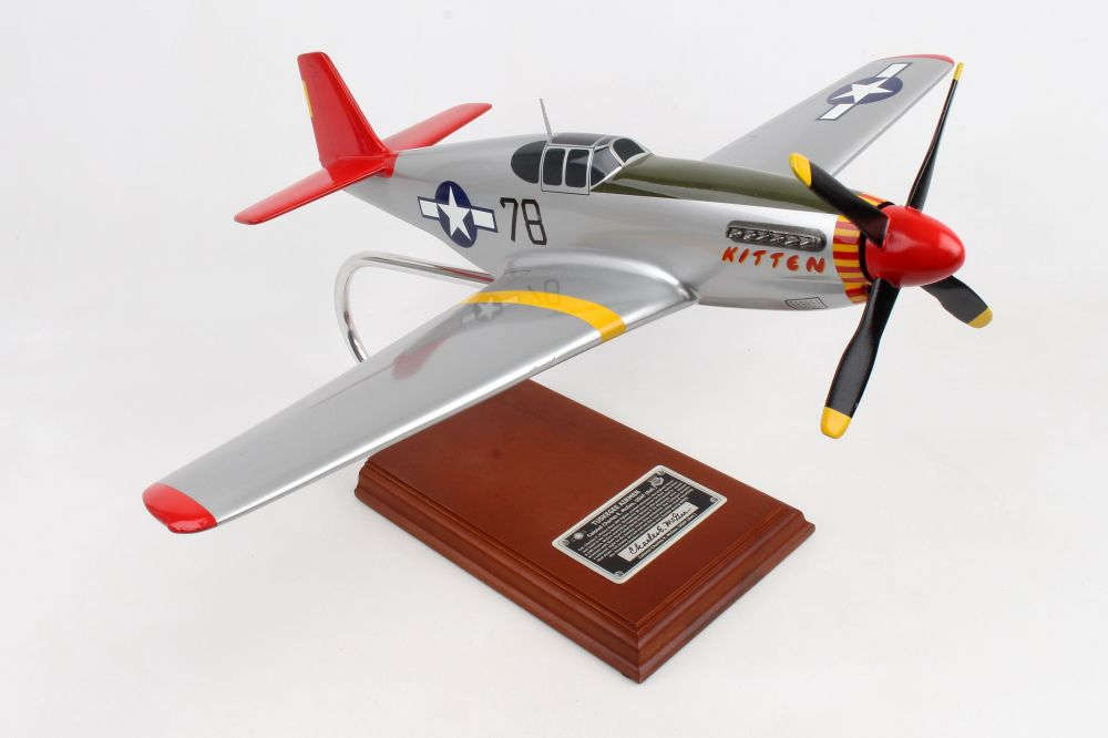 EXEC SER P-51C TUSKEGEE SIGNED BY CHARLES MCGEE 1/24 (AP51CTSS)