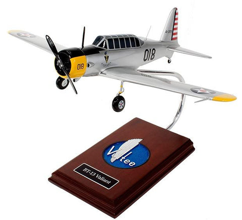 "BT-13 Valiant ""Vibrator"" 1/30 Scale Mahogany Model"