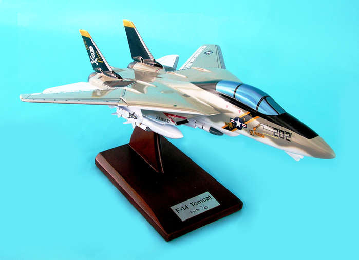 Grumman F-14A Tomcat VF-84 Jolly Rogers 1/48 Scale  Model