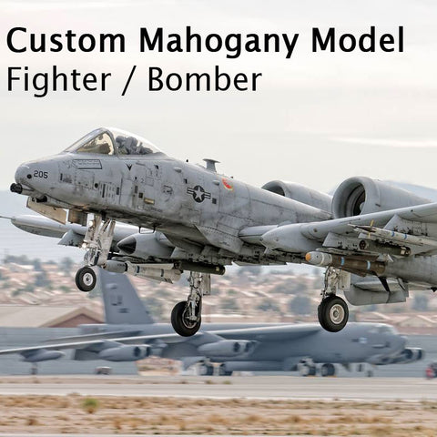 Custom Mahogany - Fighter/Bomber