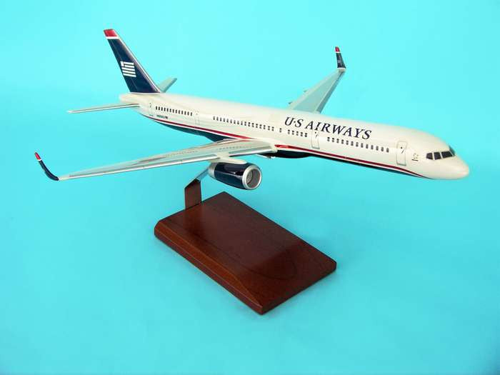 US AIRWAYS 757-200 (REG# N605AU) 1/100 Scale