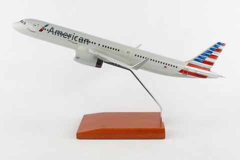 American Airlines (New Livery) Airbus 321 Mahogany Model