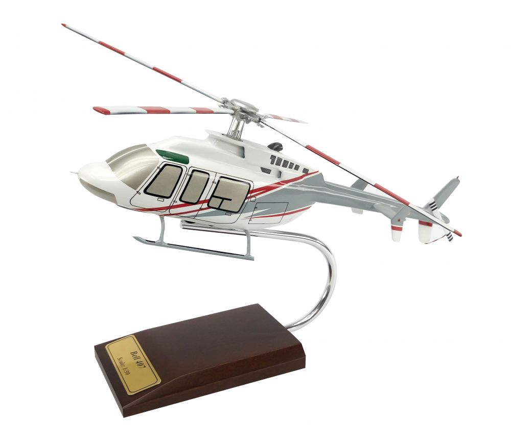 EXEC SER BELL 407 1/30 HELICOPTER