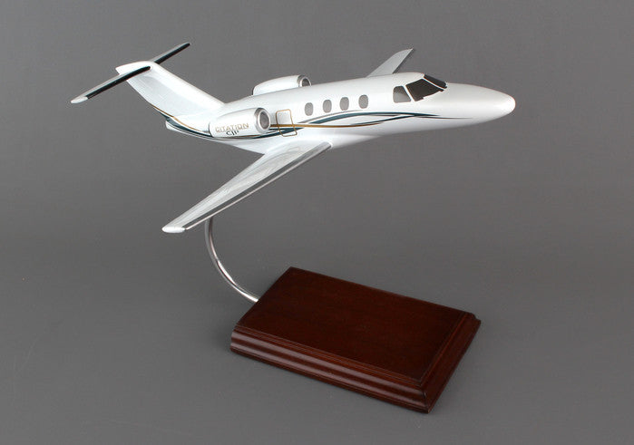 Cessna Citation CJ1 1/40 Scale Mahogany Model