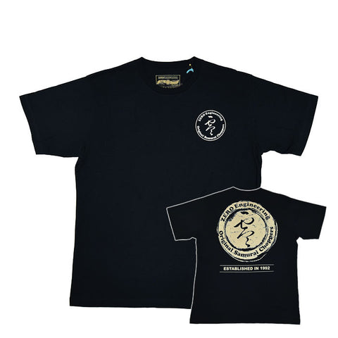 ZERO Stamp Logo Black Shirt