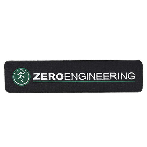 Large ZERO Engineering Logo Patch