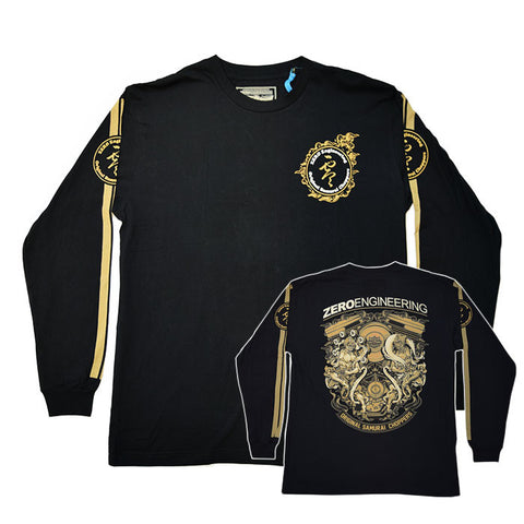 zero engineering Fujin-Raijin Engine Long Sleeve Shirt